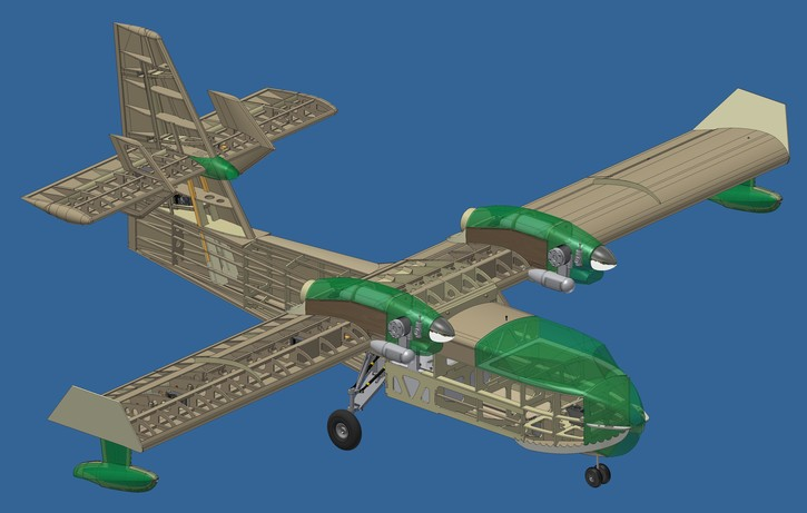 CL 415 Plans 80 Rolled Aeromodelling Products
