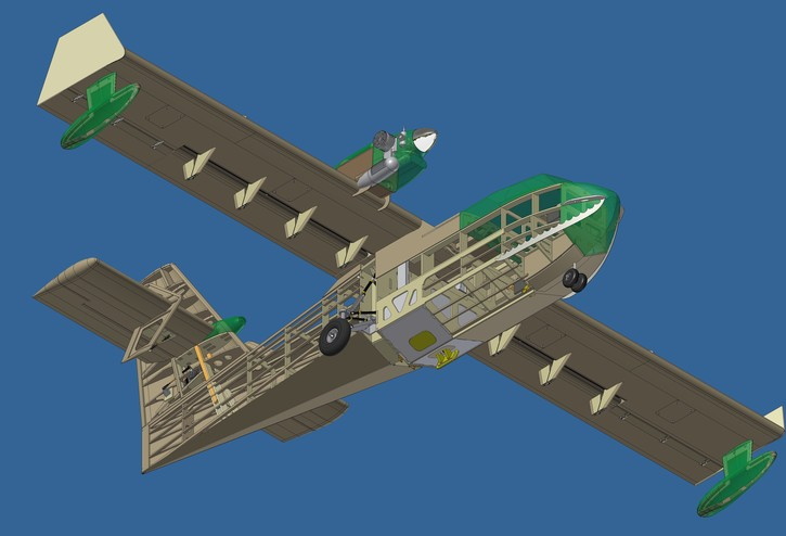 Cl 415 Plans 80 Quot Folded Aeromodelling Products