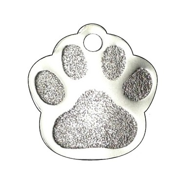 Picture of stainless dog paw
